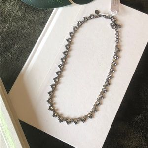Sorrelli Midnight Moon Line Necklace